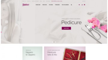 Online store manicure and pedicure instruments