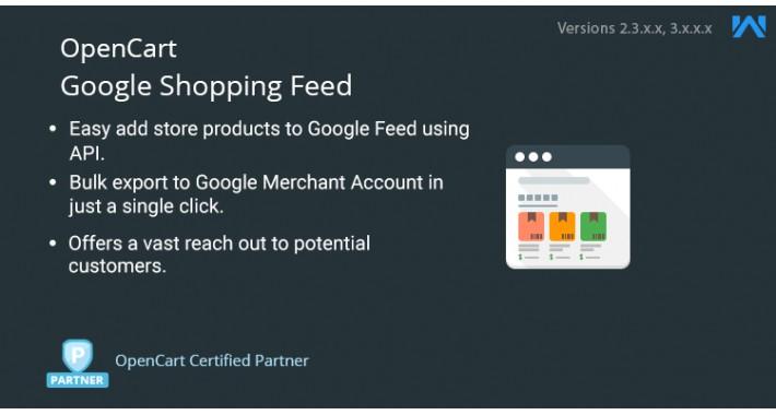 OpenCart - Opencart Google Feed