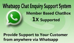 Whatsapp Chat Enquiry Extension 1X