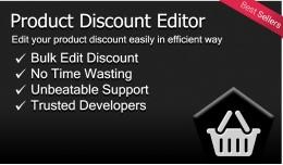 Product Discount Editor (Bulk Editor)