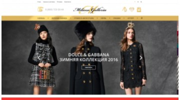Online store of brand clothes