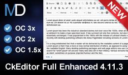 CkEditor Full Enhanced 4.11.4