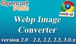 Opencart - WebP Image  OCMOD Version 2.x, 3.x Jo..