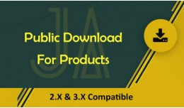 Public Downloads For Products