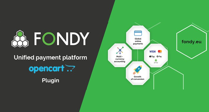 FONDY — OpenCart Payment Gateway