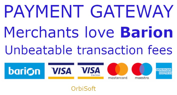 Barion Immediate Payment Integration for OpenCart 2.x-3.x