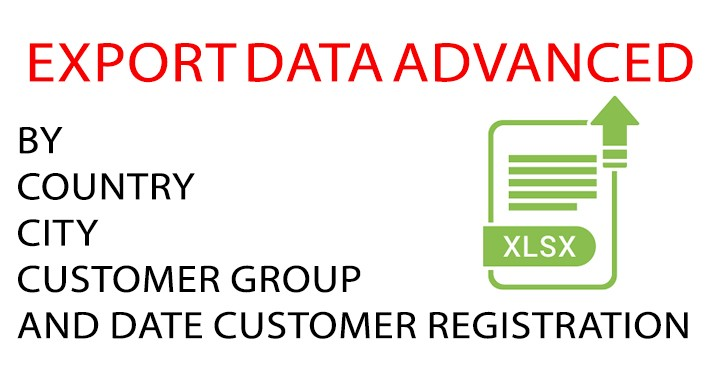 export data advanced(current information about customers)