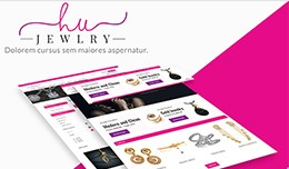 Jewellery / Fashion Opencart Theme