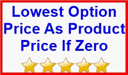 Lowest Option Price As Product Price If Zero