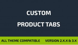 Custom Product Tabs / Extra Tabs