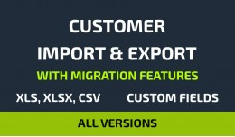 Customer Import/Export Suite