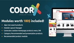 Colorix - Responsive Multipurpose OpenCart Theme..