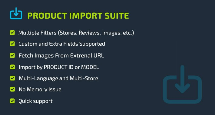 Product Import Suite