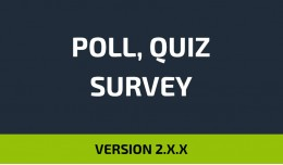 Poll, Survey, Quiz