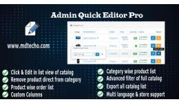 Admin Quick Editor Pro