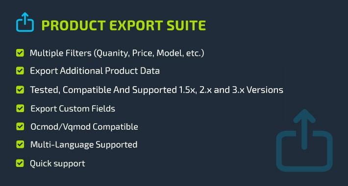 Product Export Suite
