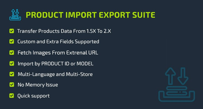 Product Import Export Free