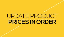 Update Product Prices in Order