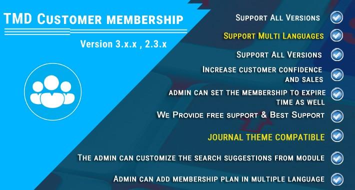 Customer Membership