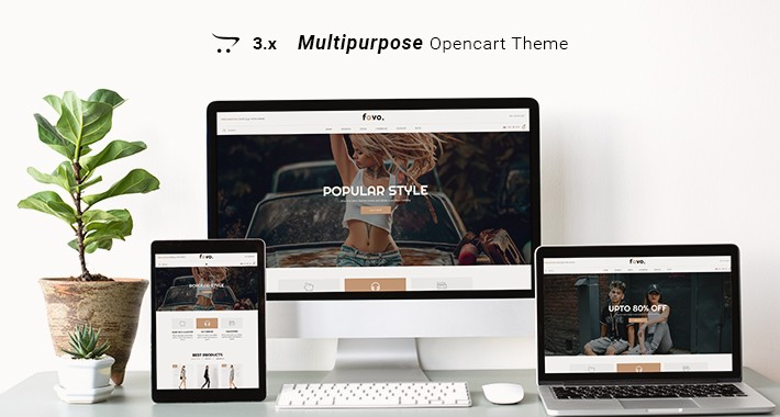 Favo - Multipurpose Responsive Fashion Opencart 3.x