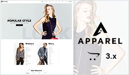 Apparel - Multipurpose Responsive Fashion Openca..