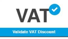 Validate VAT Number + Discount