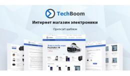 TechBoom v1.0.5- adaptive, universal template