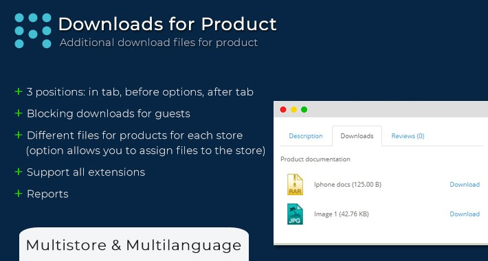 Downloads For Product | Product Attachments
