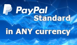 Allow any currency for Paypal Standard payment