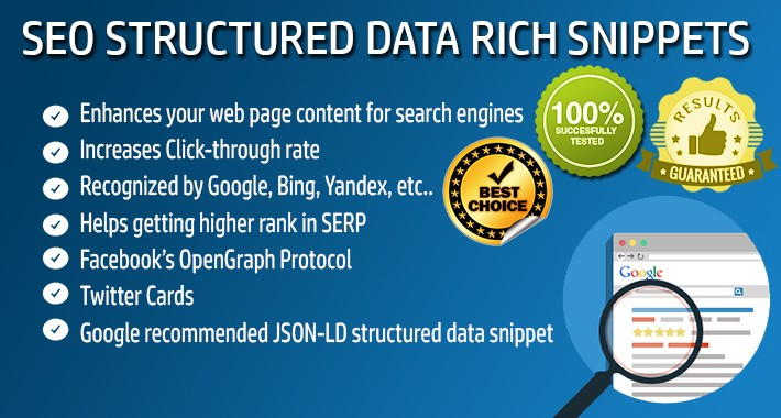 SEO Structured Data PRO - Rich Snippets - OpenCart 1.5.x.x