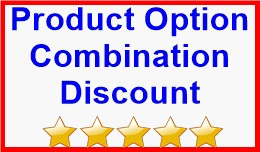 Product Option Combination Discount
