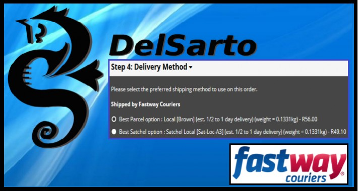 Accurate Fastway Shipping Extension
