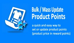 Product (Reward) Points Generator - Bulk Set / U..