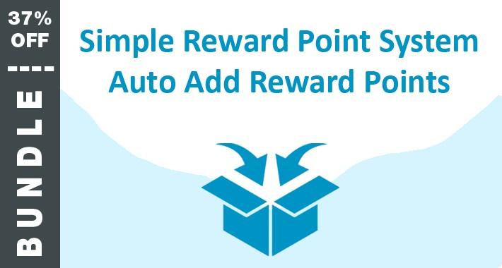 BUNDLE: Auto Add Reward Points and Simple Reward System