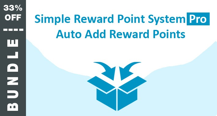 BUNDLE: Auto Add Reward Points and Simple Reward System Pro