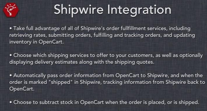Shipwire Integration