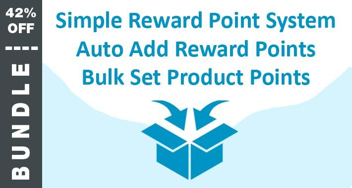 BUNDLE: Simple Reward, Auto Add, and Bulk Set Product Points