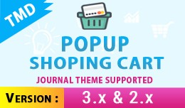 Popup Shopping Cart