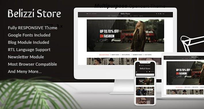 Belizzi - Multipurpose Responsive Fashion Opencart 3.x Theme