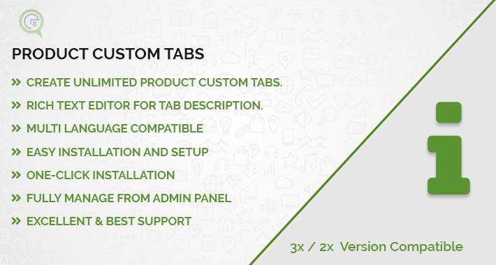 Product Custom Tabs