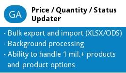 GA Price / Quantity / Status Updater