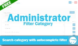 Administrator Filter Category