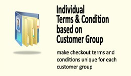 Checkout Terms & Conditions based on Custome..