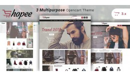 Shopee - Multipurpose Responsive Fashion Opencar..