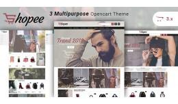 Shopee - Multipurpose Responsive Fashion Opencar..