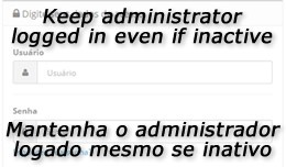 Disable Admin Logoff by Inactivity