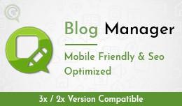 Blog Manager