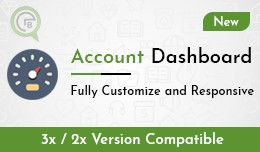 Account Dashboard With Multi Templates