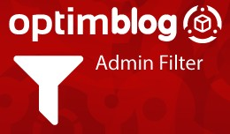 OptimBlog - Admin Filter Categories, Products an..