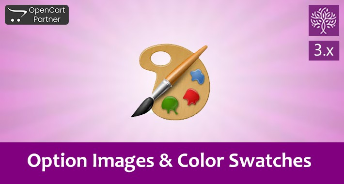 Option Images and Color Swatches